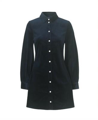 Samsoe & Samsoe Moonstone Dress - Sky Captain - Size L (UK 14)