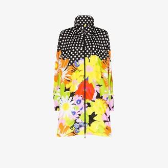 Moncler 8 Richard Quinn Debra floral print raincoat