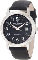 Catorex Men's 113.1.8167.320 Attractive Black Calfskin Mechanical Watch