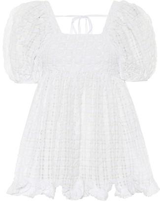 Cecilie Bahnsen Vega faille blouse