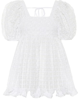 Cecilie Bahnsen Vega seersucker blouse
