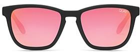 Quay Men's Hardwire Square Sunglasses, 50mm