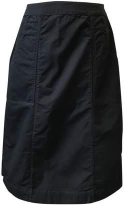 Margaret Howell Navy Cotton Skirt for Women