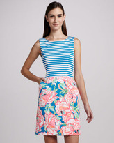Lilly Pulitzer Juliana Ponte Combo Dress