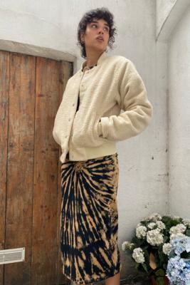 Santa Cruz Ecru Opus Dot Jacket - White UK 6 at Urban Outfitters