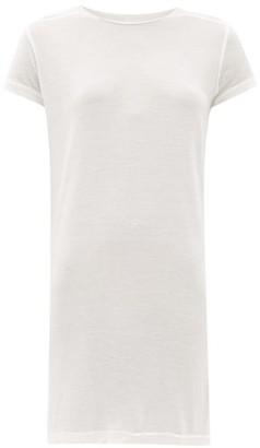 Rick Owens Level Longline Jersey T-shirt - White