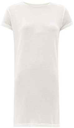 Rick Owens Level Longline Jersey T-shirt - Womens - White