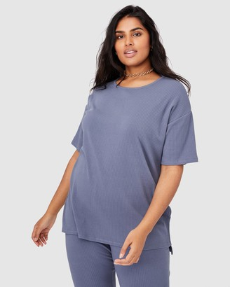 Cotton On Curve Bella Oversize Rib SS Top