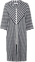Araks Margot stripe hooded cover-up - women - Cotton - XS