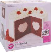 JCPenney Wilton Brands Wilton Heart Tasty-Fill Cake Pan Set