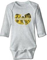 Kra8er Wu Tang Clan Kids Baby Boys Girls Bodysuits Long Sleeve Jumpsuit 100% Cotton 6 M