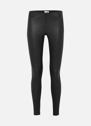 Stand Studio Cordelia Leather Leggings - Black