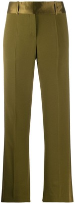 Ermanno Scervino Contrast Panel Cropped Trousers