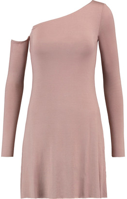 Bailey 44 One-shoulder Jersey Mini Dress