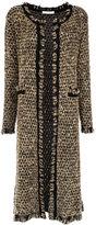 Cecilia Prado long knit cardigan - women - Acrylic/Lurex/Polyamide - P