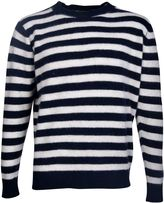The Elder Statesman Inch Stripe Sweater