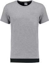 Puma Evo Core Print Tshirt Medium Gray Heather