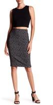 Joe Fresh Patterned Jacquard Knit Skirt