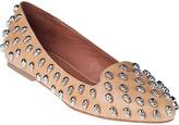 Jeffrey Campbell Skulltini Loafer Black Leather