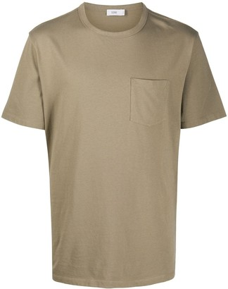 Closed chest pocket T-shirt