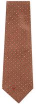 Chanel Vintage Brown Silk Tie