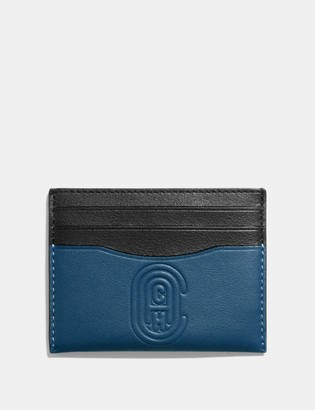 Coach Card Case With Patch