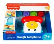 Fisher-Price Dough Telephone with 3 Pots of Dough Set