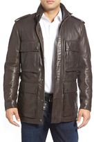 Andrew Marc Tompkins Leather Field Jacket
