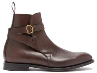 Church's Worthing Wrap Around Leather Boots - Mens - Brown