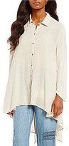 XCVI Miyako Shirttail Tunic