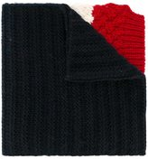 Moncler straps scarf