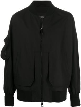 Neil Barrett Zipped Sleeve Pocket Bomber Jacket