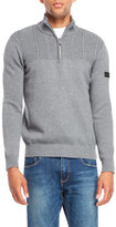 Ben Sherman Quarter-Zip Sweater
