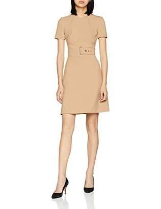 Karen Millen Women's Interlaced Corset Dress Knee-Length A-Line Short Sleeve Dress,8 (Manufacturer Size: 36)
