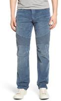 Men's True Religion Brand Jeans Geno Straight Leg Corduroy Moto Pants
