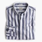 J.Crew Tall Secret Wash shirt in striped heather poplin