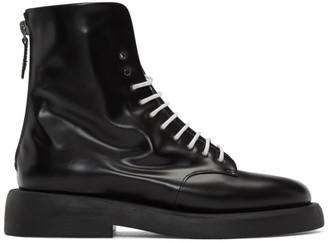 Marsèll Black Gomme Polacchino Gommello Boots