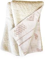 "Deny Designs Dash and Ash Blank Slate Fleece Throw Blanket - 60"" x 50"""