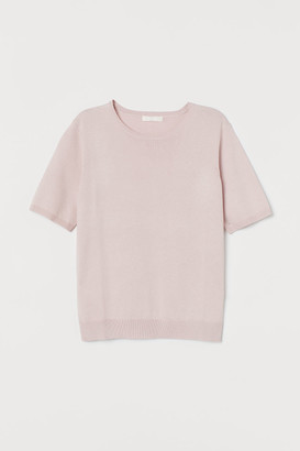 H&M Fine-knit Sweater - Pink