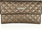 Marc Jacobs Baroque Eugenie metallic quilted leather clutch