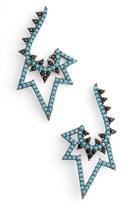 Azaara Women's Spike Drop Earrings