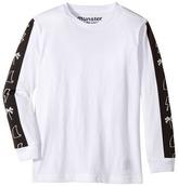 Munster One Stripe Jersey Long Sleeve Tee Boy's Long Sleeve Pullover