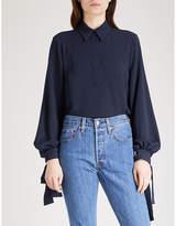 Emilia Wickstead Monica crepe shirt