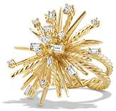 David Yurman Supernova Ring with Diamonds in 18K Gold