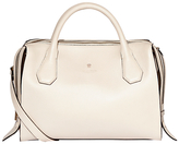 Modalu Willow Leather Large Triple Grab Bag, Cream