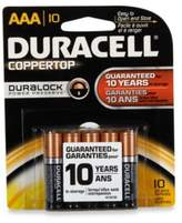 Duracell Coppertop 10-Pack AAA Batteries