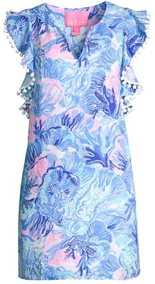 Lilly Pulitzer Astara Flutter Linen Dress