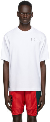 McQ White Core Relaxed T-Shirt