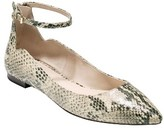 Cole Haan Women's Millicent Ankle Strap Skimmer Flat