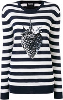 Markus Lupfer striped strawberry top